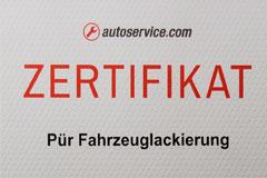 werkstattPÜR Lack - Meisterbetrieb für Karosserie- und Lackiertechnik in Ahlen | Autoservice Zertifikat