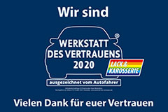 PÜR Lack - Meisterbetrieb für Karosserie- und Lackiertechnik in Ahlen | Werkstatt des vertrauens 2020